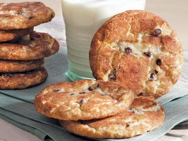 Gluten-Free Chocolate Chip Snickerdoodles