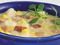 Potato and Double-Corn Chowder