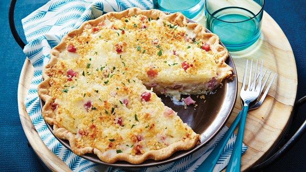 Ham and Scalloped Potato Pie