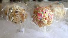 Sugar Cookie-Popcorn Pops Recipe