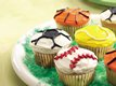 Ball Game Cupcakes
