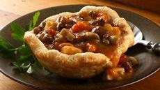 Beef Stew in Biscuit Cups Recipe