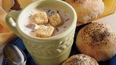 Sherried Mushroom Bisque Recipe