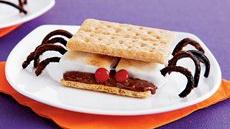 Spider S'mores Recipe