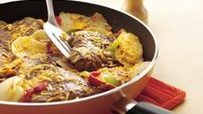 Cheesy Steak and Potato Skillet Recipe