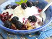Slow-Cooker Sweet Cornbread Blackberry Cobbler
