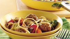 Meatball Lo Mein Recipe