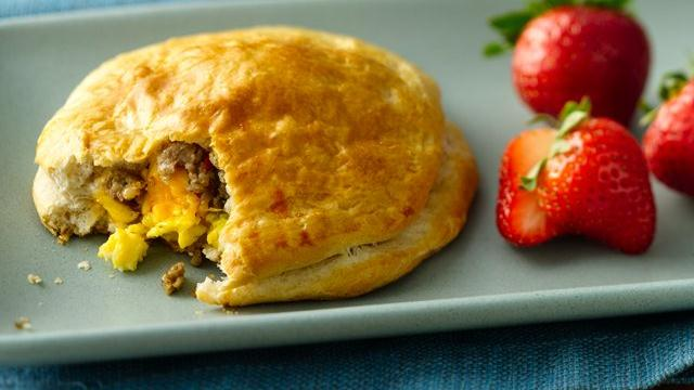 Grands! Jr. Sausage and Egg Biscuit Pies