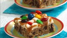 Ooey Gooey Candy and Chocolate Bars Recipe
