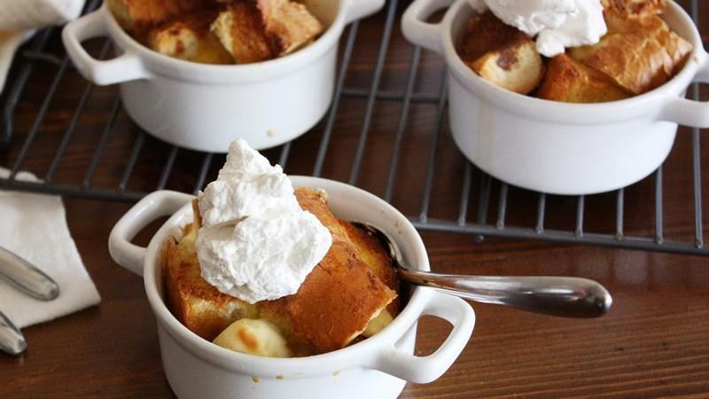 Peaches 'n Cream French Toast Casserole