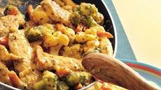 Cheesy Chicken and Vegetables Recipe