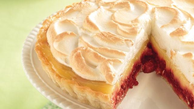 Raspberry-Lemon Meringue Tart