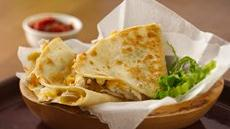 Chicken-Chile Quesadillas Recipe