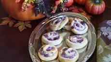 Cranberry-Sausage Crescent Pinwheels Recipe