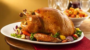 Roast Turkey with Stuffing