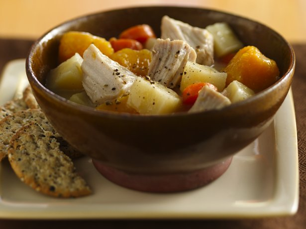 Slow Cooker Pork and Veggie Stew