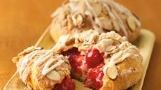 Cherry-Almond Streusel Danish Recipe