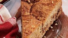 Apple Crunch Coffee Cake Recipe