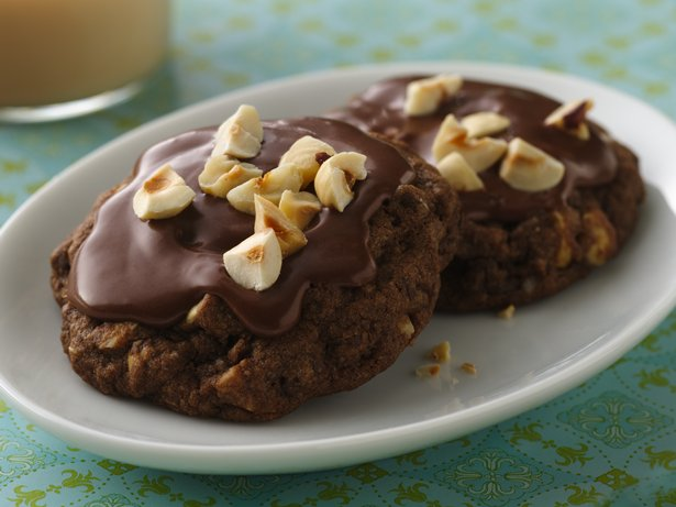 Choco-Hazelnut Latte Cookies