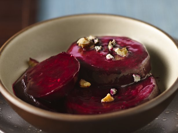 Slow Cooker Balsamic-Glazed Beets 