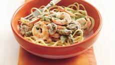 Shrimp Primavera Alfredo Recipe