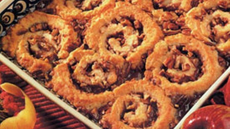 Pinwheel Apple Cobbler