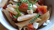Quick Penne Pasta Salad with Balsamic Vinaigrette Recipe