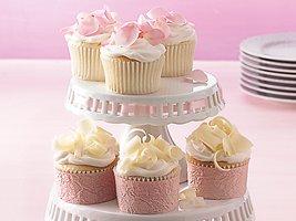 Wedding Cupcakes  Recipe from Betty Crocker