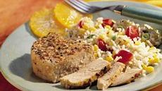 Grilled Southwest Pork Packs Recipe