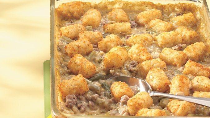 Tater Nugget Hot Dish