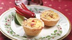 Asian Crab Mini Quiches Recipe
