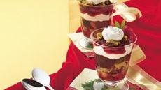 Raspberry-Cookie Parfaits Recipe