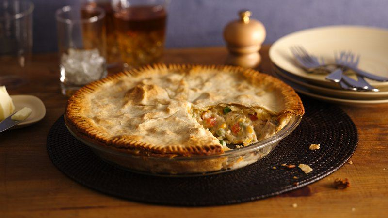 Easy Weeknight Chicken Pot Pie