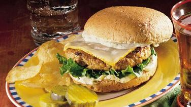 Dilled Turkey Burgers