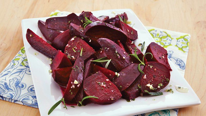 Slow Cooker Rosemary Beets