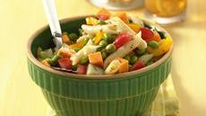 Hearty Soybean and Cheddar Pasta Salad Recipe