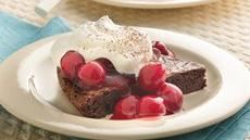 Black Forest Brownie Dessert Recipe