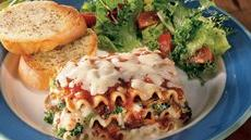 Mushroom and Vegetable Lasagna Recipe