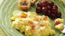 Scrambled Eggs Alfredo Recipe
