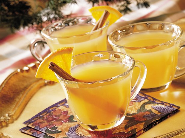 Peachy Spiced Cider