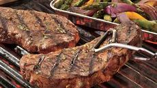 Grilled Italian Steak and Vegetables Recipe