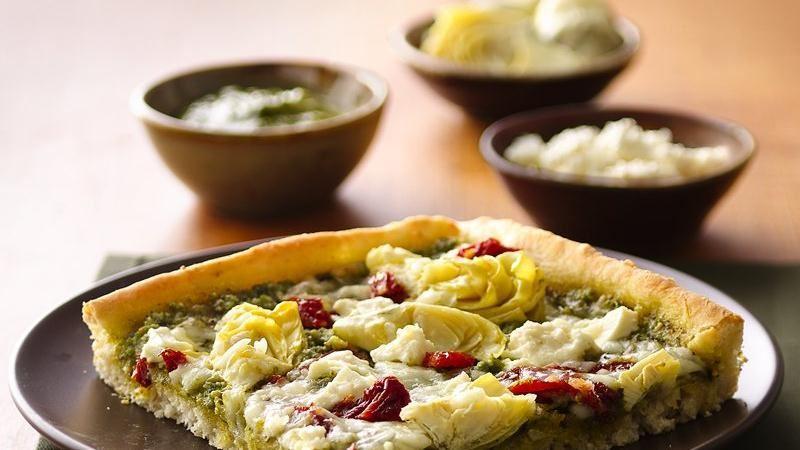 Mediterranean Pizza