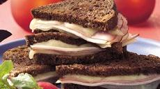 Grilled Cordon Bleu Sandwiches Recipe