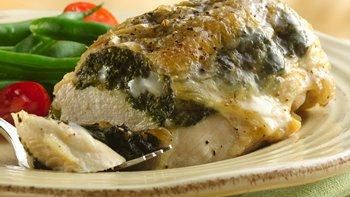Stuffed Chicken Breasts with Gouda and Spinach