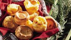 Mini Cheddar Popovers Recipe