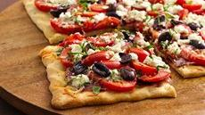 Mediterranean Three-Tomato Tart Recipe