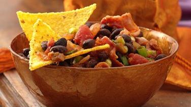 Salsa and Black Bean Dip