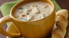 Cheesy Tuna-Vegetable Chowder (Cooking for Two) Recipe