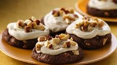 Nutty Chocolate-Irish Cream Cookies Recipe
