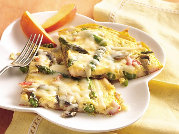 Seafood Frittata
